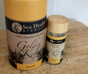 golden kelp seaweed flakes superfood