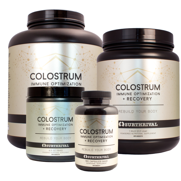 Colostrum Powder – Immune Optimisation