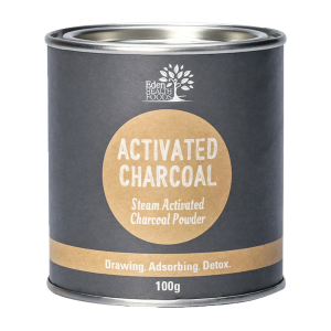 Activated Charcoal 100g | Eden Health Foods